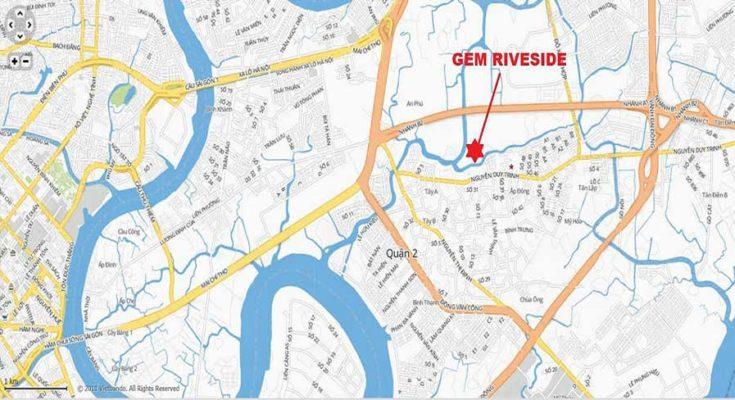 Gem Riverside Dat Xanh