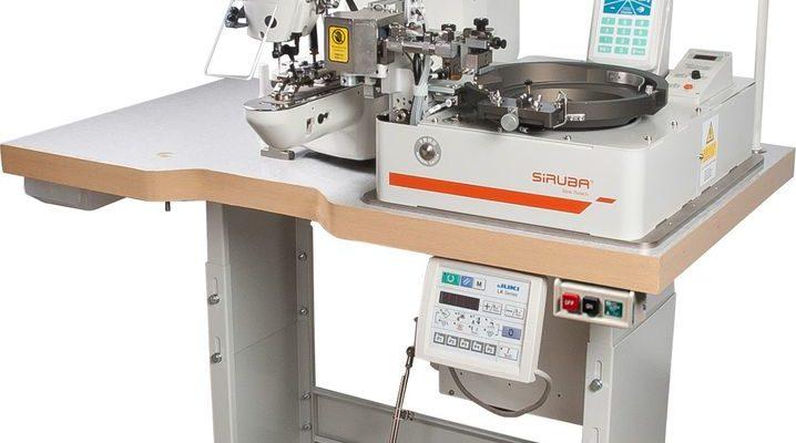 máy đính nút tự động Siruba ASP - ABF100J 1