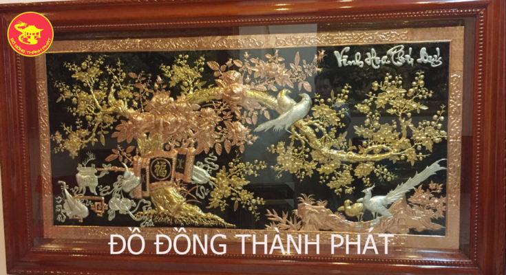 Hướng dẫn chọn tranh vinh hoa phú quý mạ vàng treo nhà thờ (1)