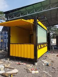 Cải tiến container văn phòng làm kiots bán hàng thông minh.