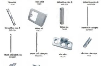Tất tần tật các hãng phụ kiện cửa nhôm kính xingfa hiện nay (2)
