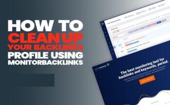 Cách làm sạch backlink Profile của bạn bằng MonitorBacklinks