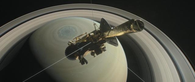 Tàu Cassini tự sát kết thúc hành trình vĩ đại 20 năm - Ảnh 1.